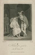 Henry 6, part 1, act II, scene VI [i.e. 5] [graphic] / Satchill, del. ; Ridley, sculp.