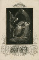 The death of Mortimer [King Henry VI, part I, act 2, scene 5] [graphic] / [Jas. Northcote] ; J.T. Crew.