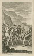 [King Henry VI, pt. 1, act IV, scene 6] [graphic] / H. Gravelot, in. ; G. Vrd. [sic] Gucht, scul.