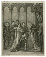 [King Henry VI, part 2] 1 a., 2 s. [i.e. act I, scene 1] [graphic] / Dietrich, del ; Franke, sc.
