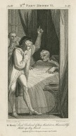 IInd. part Henry VI, act III, sc. III ... Lord Cardinal if thou thinks't on Heaven's bliss hold up thy hand [graphic] / H. Fuseli R.A., del. ; R.H. Cromek, sc.