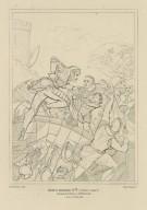 King Henry 6th (third part), Rutland & Tutor, Clifford, &c., act I, scene III [graphic] / Northcote del. ; Starling sc.