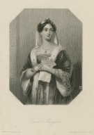 Queen Margaret [character in Shakespeare's] King Henry 6, part 3 [graphic] / J. Herbert ; W. H. Mote.