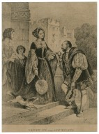Henry 8th and Ann Boleyn: [in King Henry VIII: act I, scene 4] [graphic] / W.A.D., delt.