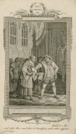 King Henry VIII, act 3, sc. 2 ... Read o'er this, and after this; and then to breakfast, with what appetite you may [graphic] / Rooker, del. ; Delatre, sculp.