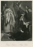 König Johann = King John [act 3, sc. 1, Constance, Arthur, etc.] [graphic] / M. Adamo, del. ; Tob. Bauer, sc.