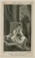 King John, act 3, sc. 1, Constance--here I and sorrow sit [graphic] / [Henry] Fuseli, del. ; [George] Noble, sculp.