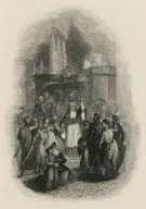 King John [act 3, sc. 1, John, Pandulph, Philip, etc.] [graphic] / [Charles Michel] Geoffroy.