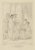 King John, Constance, Philip, Lewis & Pandolph [graphic] / Westall del. ; Starling sc.