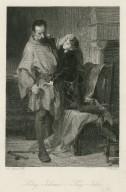 König Johann = King John [Arthur & Hubert, IV, 1] [graphic] / M. Adamo del. ; J. Bankel sc.