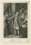 König Lear, 1. aufz. 1. scene [Lear, Cordelia, etc.] [graphic] / J.N. Adam, scupt. [sic]