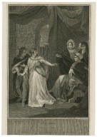 King Lear, act 1, scene 1 [graphic] / painted by R. Smirke ; engrav'd by W. Sharpe.