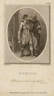 Edmund: I know no news, my lord, act I, scene 2 [King Lear] [graphic] / H. Singleton del. ; C. Taylor dirext et sculpt.