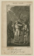 King Lear, act III, scene III [i.e. 4]: thou art the thing itself-- off, off, you lendings [graphic] / E. Edwards, del. ; J. Hall, sculp.