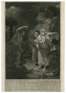 King Lear, act III, scene IV [graphic] / painted by R. Smirke ; engrav'd by L. Schiavontetti.
