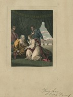 King Lear, act 5th scene 1st [i.e. IV, 7], Lear: I think that lady to be my child Cordelia [graphic] / Ryley, invt. ; Heath, sc.