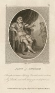 John of Ghendt ... [King Richard II, II,1] [graphic] / H. Singleton del. ; C. Taylor dirext. ; W. Nutter sculpt.