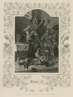Richard II, act V, scene 5 [graphic] / engraved by F.F. Walker ; original painting by E.H. Corcould.