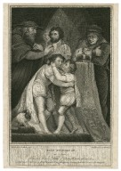 King Richard III, act 3, scene 1: The two Princes, Dukes of Gloster & Buckingham &c. [graphic] / painted by J. Northcote R.A. ; engraved by B. Reading.