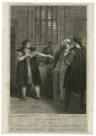 King Richard III, act 3, scene 4 [graphic] / Westall del. ; engraved by Anker Smith.