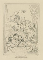 King Richard 3rd, the two princes, Dighton and Forrest, act IV, scene III [graphic] / Northcote, del. ; Starling, sc.