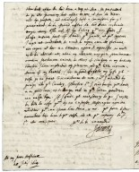 Autograph letter signed from John Donne, London, to Sir Robert More, Loseley [manuscript], 1614 July 28.