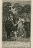 Love's labour lost, act IV, scene II [graphic] / engrav'd by J. Neagle ; [Francis Wheatley, artist].