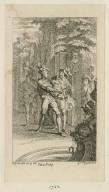 [Love's labour's lost, act IV, scene 3 ...] [graphic] / H. Gravelot in & del. ; G. Vander Gucht scul.