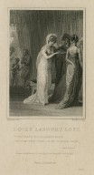 Love's labour's lost: a holy parcel of the fairest dames that ever turn'd their backs to mortal views! ; act 5, scene 2 [graphic] / Thurston del. ; Rhodes sculp.