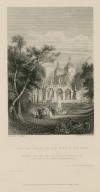 Park and palace of the King of Navarre ... This field shall hold me, and so hold your vow: Nor God, nor I, delights in perjured men, Love's labours lost, act 5, scene 2 [graphic] / drawn by G.F. Sargent ; engraved by J. Hinchliffe.