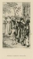 Peines d'amour perdues, [Love's labour's lost, act V, scene 2] [graphic] / L. Monziès d'après H. Pille.