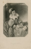 Princess of France, [character in Shakespeare's] Love's labour lost ... [graphic] / J.J. Jenkins ; H. Cook.