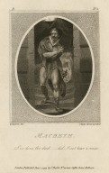 Macbeth: I've done the deed ... did I not hear a noise [act II, scene 2] [graphic] / H. Singleton del. ; C. Taylor direxit et sculpsit.