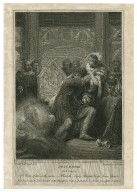 Macbeth, act 3, scene 4 [graphic] / painted by Westall ; engraved by Jas. Parker.