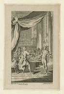 [Macbeth, act III, scene IV] [graphic] / H. Gravelot in ; G. Vander Gucht scul.