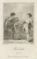Macbeth [act V, scene 7] page 385 [graphic] / Thurston, delt. ; Platt, sc.
