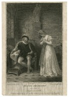 Measure for measure, act 2, scene 4, Angelo and Isabella [graphic] / painted by R. Smirke, R.A. ; engraved by W.C. Wilson.