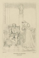 Measure for measure, act 2, scene 4, Angelo and Isabella [graphic] / painted by R. Smirke, R.A. ; Starling, sc.