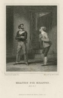 Measure for measure, act 4, sc. 2 [graphic] / painted by R. Smirke R.A. ; engraved by David Smith.