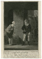 Measure for measure, act 4, scene 2 [i.e., sc. 3], Abhorson, Clown and Provost [graphic] / painted by R. Smirke, R.A. ; engraved by W.C. Wilson.
