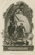 Merchant of Venice, act III, sc. 1 [graphic] / Ansell, del. ; Barlow, sc.