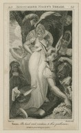 Midsummer night's dream, act 3, sc. 1, Titania: Be kind and courteous to this gentleman [graphic] / [Henry] Fuseli ; [Richard] Rhodes, sculp.