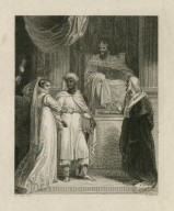 [Desdemona ... here's my husband, act I, sc. 3] [graphic] / R. Cook, delt. ; W. Poole, sc.