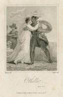 Othello, act II, sc. 2 [i.e. 1] [graphic] / Thurston del. ; Ridley Sculp.