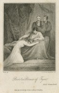 Pericles Prince of Tyre, act 2, scene last [i.e. I, 4] [graphic] / Porter, del. ; J.J. Van den Berghe, sculp. 1800.