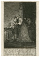 Romeo and Juliet, act 3, scene 5 [graphic] : Romeo, Juliet & Nurse / painted by I.F. Rigaud R.A. ; engraved by Jas. Stow.