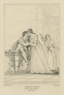 Romeo & Juliet [graphic] : Romeo, Juliet and Nurse, act III, scene V / Rigaud, del. ; Starling, sc.