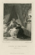 Taming of the shrew, induction, scene 2 [graphic] / painted by R. Smirke, R.A. ; engraved by W. Finden.