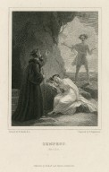 Tempest, act 1, sc. 2 [graphic] / painted by R. Smirke R.A. ; engraved by F. Engleheart.