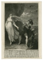 Tempest, act 3, scene 1, Ferdinand & Miranda [graphic] / painted by Wm. Hamilton R.A. ; engraved by Anker Smith.